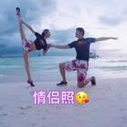 #芭蕾##情侣照##精选#我家的移动把杆,理工男😘。