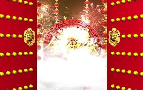 【联合国美拍】按照春节的传统习俗,正月初二祭...
