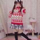 #海草舞#跳的太欢快了没站稳 ⁽⁽ƪ(•̩̩̩̩_•̩̩̩̩)ʃ⁾⁾ᵒᵐᵍᵎᵎ 尴尬 哈哈哈哈今天是除夕啦~带窝家kiyomi和nanami来给大家拜年啦 (。>∀<。)爱你们~啾咪😚