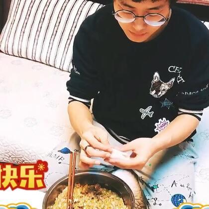 过年包饺子喽~