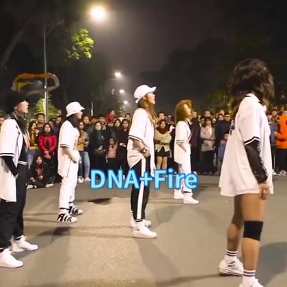 #舞蹈##我要上热门##BTS#BTS - DNA + Fire