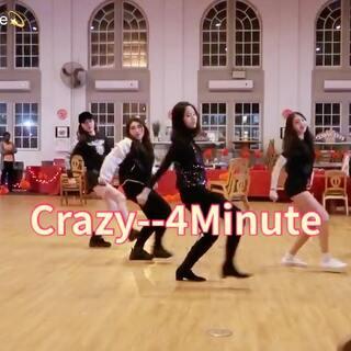 """#舞蹈##韩舞#Crazy--4 Minute☄️新年""""疯""""一回 最后一次在高中过春节啦 这一次练的时间不多 放了几个小炮 but anyways I still love my girls!! @美拍小助手 #春节快乐#"""
