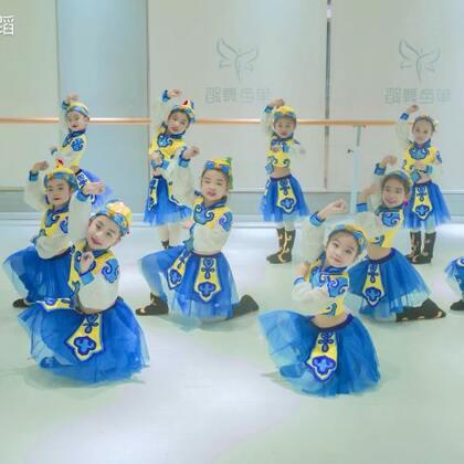 蓝蓝的天上白云飘,白云下面马儿跑,咱们单色的教室里也有一群可爱的马儿们,少儿中国舞初级班的宝宝们可爱演绎《马蹄哒哒》要被萌化了呀~#宝宝##中国舞##舞蹈#