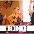 #晚安翻唱#我知道没有你我也很坚强,你的离开不会让我伤心太久,我已经不在乎了,你不能再左右我的心了。(歌曲:Medicine - 原唱:Kelly Clarkson - 翻唱制作:KHS & Linney Cover) 下载链接:http://music.163.com/program/1367949512/88798553?userid=88798553 #热门##音乐#