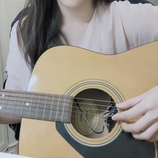 一杯敬朝阳 一杯敬月光~先来个10s版本#消愁##吉他弹唱##音乐#