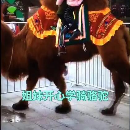 【姐妹开心学骑骆驼】…#随手美拍##游汉城湖##学骑骆驼学骑马##旅游##我要上热门@美拍小助手#…2018年正月初四。鸽子和妙妙家爸妈、爷爷奶奶!欣赏观看了【西安汉城湖风景区】特别的开心快乐!《汉城湖一日游》之一【骑骆驼】…请你观看美拍《姐妹开心学骑骆驼》!