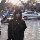 北京终于暖一点了 今天逛了一下庙会 累死我了