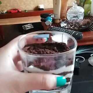 来吃嘛,超级好吃#奥利奥酸奶盆栽#