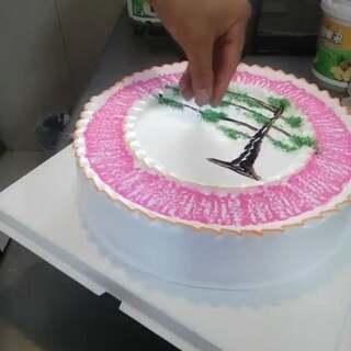 #美食##蛋糕##甜品#想学蛋糕的宝宝们记得关注我噢❤️,每天更新更多作品