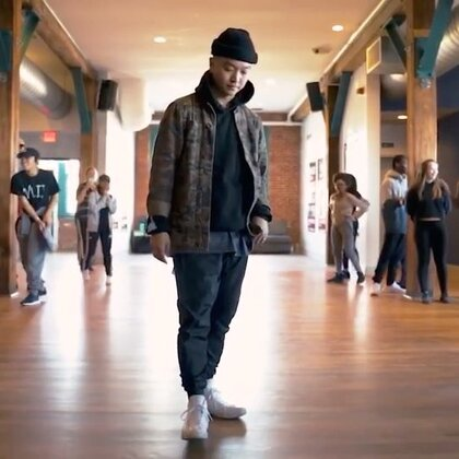 """💥💥 """"What You Know?"""" Moves by mikeosong, Beats by troyboi_music 🐯 X 👈🏼=👉🏼#精选##kinjaz##舞蹈#"""