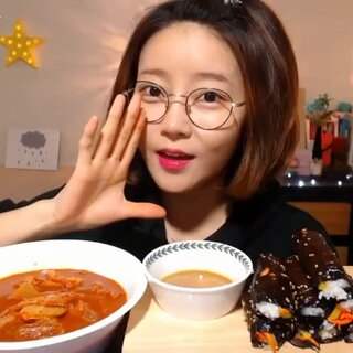 #吃秀##韩国吃播#Dorothy