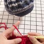 贝雷帽教程-9#手工##手工编织#@美拍小助手 #贝雷帽#