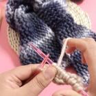 水波纹围巾教程-4#手工##毛线编织#@美拍小助手