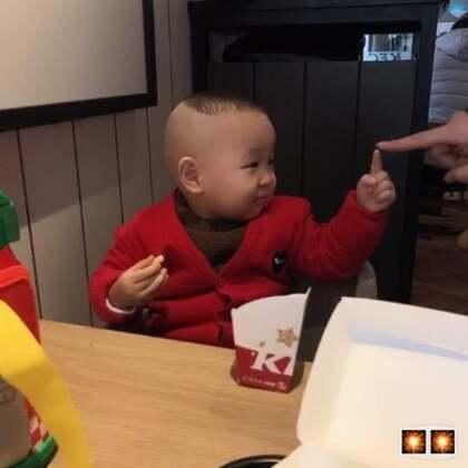 #小缘宝##宝宝##吃秀##宝宝逛街#