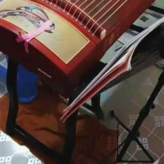 视频的美拍:糯米凤翔歌古筝歌曲倔强图片