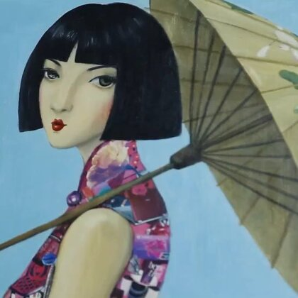 这个上海美女画家,设计了最有老上海范的包包。#穿秀##独立设计##购物分享#@美拍小助手