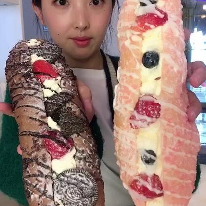 #吃秀#这个面包叫什么名字来着?超好吃😀@美拍小助手