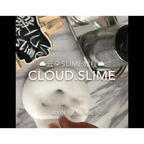 【🌧️馨儿.slime.🌧️美拍】云朵泥教程就是拉面泥和泰透有层...