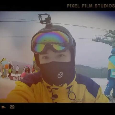 【BY赵晔美拍】一起去滑雪