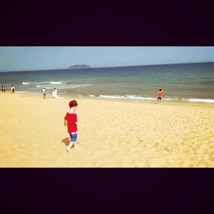美好的假期开始啦😘#帅帅成长记##海边度假##宝宝#