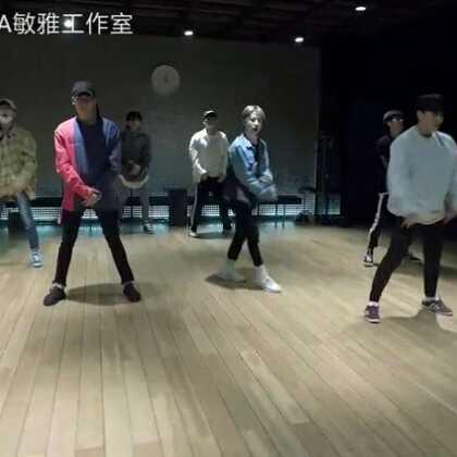 #iKON - RUBBER BAND# 镜面视频!果真是女生节福利啊💝💝💝#舞蹈#正面练习室请戳http://www.meipai.com/media/969257895 #敏雅韩舞专攻班# 走起!公众号MinyaCola