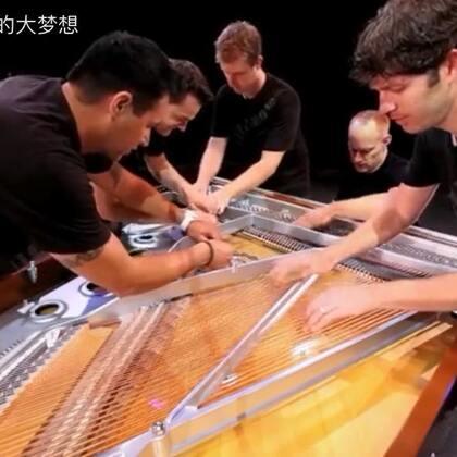 弹钢琴的同学们,如果你把你们家钢琴拆了会怎么样😏。#音乐##钢琴#