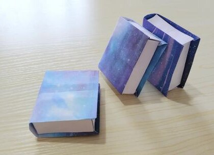 【下集】魔法书造型的收纳盒,可以装一些小礼物,超级酷,学生党不要错过哦,因为这次的视频比较长,所以只能分两次发了,感谢大家对香香的支持,爱你们,么么哒,#手工##diy##折纸#