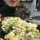 「皮皮虾肉炒蛋蛋」好吃不贵过瘾,绝了!😋#美食##热门#