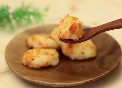 9-11个月辅食:鲑鱼土豆煎饼,简单易学又色泽诱人,创意辅食轻松做 #宝宝##宝宝频道##美食# @美拍小助手@宝宝频道官方账号 贝贝粒,让育儿充满欢笑。