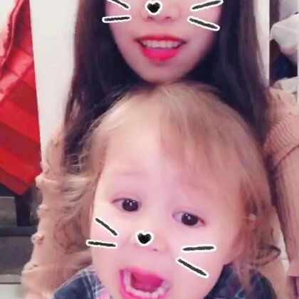 最近咋感觉爸爸那么配合拍视频呢?我和娜姐拍着拍着他自己还主动凑过来了😂#宝宝##精选##萌宝宝##安娜2岁5个月#
