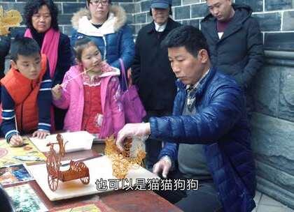 大叔做糖画38年, 平面3D镂空样样精通, 受邀参加北京奥运文化表演#二更视频##民间大师##我要上热门#