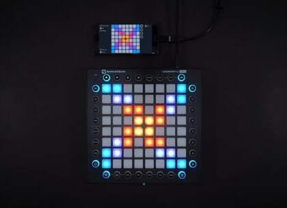 Jim Yosef - Imagine 第一次用手机UniPad玩~ 效果还不错😀感谢各位的支持~#音乐##launchpad##unipad#