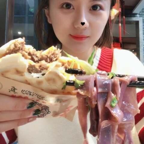 【吃播娇娇姐🍔美拍】西安回民街吃了一路#吃秀##热门#