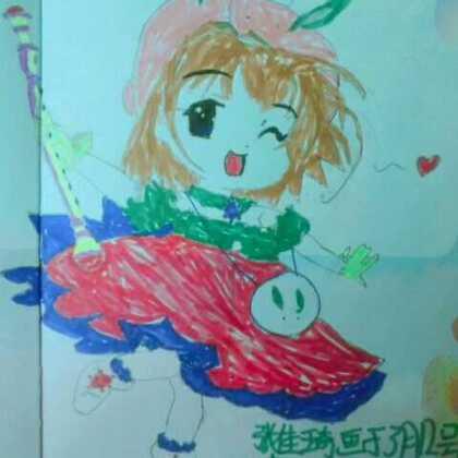喜欢在本子上画画,#张佳琦##自学##宝宝#