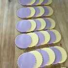 南瓜,紫薯,双色#花样面食##美食##甜品# 制作教程。喜欢请参考学习,赞转评+关注 不定期抽粉丝福利,感谢大家支持。