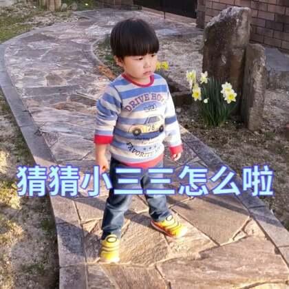 保育院回来的两小只看到水仙花的花开了就要浇水,然后小三三突然!突然!!!哈哈哈哈😂@宝宝频道官方账号 #宝宝##lisaerli日本生活#