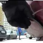 在俄罗斯乱停车的下场。。。