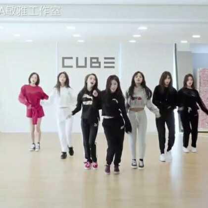 #CLC - BLACK DRESS# 又一版练习室,感觉闪腰舞现在正火起来了!#舞蹈# 敏雅韩舞专攻班公众号MinyaCola