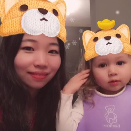 亲亲😘#宝宝##精选##萌宝宝##安娜2岁5个月#