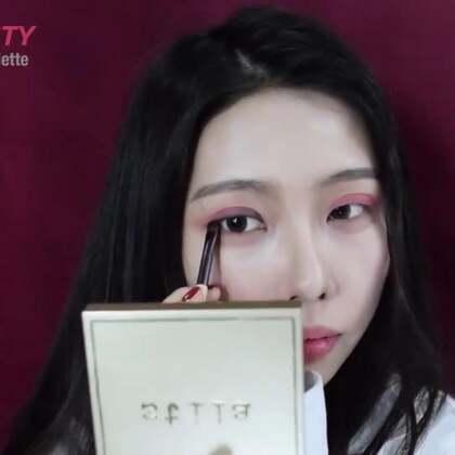 三部勾勒出完美的眼型!真的是超级美啊!#美妆##美妆时尚##眼妆#