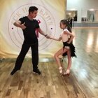 😍别人家的老师~#舞蹈##拉丁舞##少儿拉丁#