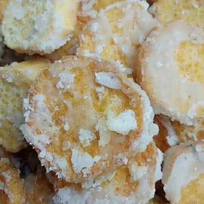 地瓜买的时候一定选黄色的别买白色的,黄色的地瓜又甜又面做出来效果更好些,想要吃糖浆的都裹上的就沾生份炸#美食##我要上热门@美拍小助手#