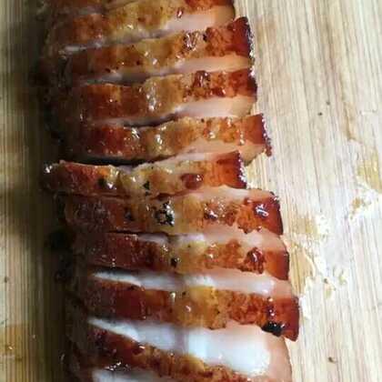 刷蜂蜜时把底层的锡纸换掉,最后十分钟中间翻一次面#美食##我要上热门@美拍小助手#