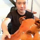 #吃秀##美食##我要上热门#久违的大猪头😂