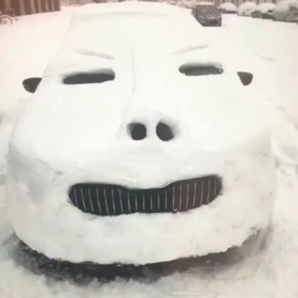 #搞笑##雪人##我要上热门@美拍小助手#