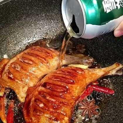 #美食#啤酒鸭腿做起来