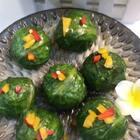 拌饭海苔做的饭团,做法特别的简单!没事在家做做看,既好看又美味!而且越嚼越香!#热门##我要上热门@美拍小助手##美食#