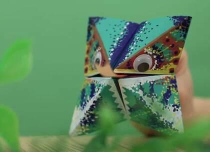 手工DIY:巧手宝妈来试试学做一个蜥蜴手偶怎么样?既满足宝宝探索世界的好奇心,又可以增加与宝宝的互动#宝宝##DIY##育儿#@美拍小助手 贝贝粒,让育儿充满欢笑。