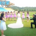 校园里的求婚👍好浪漫🌹全班同学当伴郎伴娘🌹好幸福👍#精美电影##史上最浪漫的求婚##情人节快乐#
