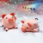 《梦想小猪》✨梦想有一天能飞上蓝天的小猪。相信自己总有一天会成功……🚀#粘土萌物##超轻粘土##手工#